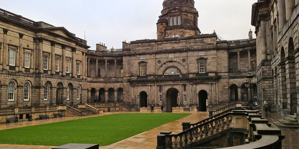 Old College, University of Edinburgh by Su Hongjia (2011) (800px) Creative Commons Attribution-Share Alike, available @ http://commons.wikimedia.org/wiki/File:Old_College,_University_of_Edinburgh_.JPG